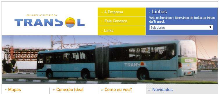 Horário de Ônibus e Itinerário - TRANSOL Florianópolis