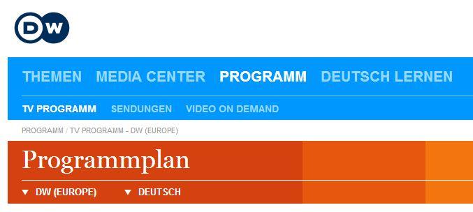 Assistir TV Deutsche Welle - Alemanha - online