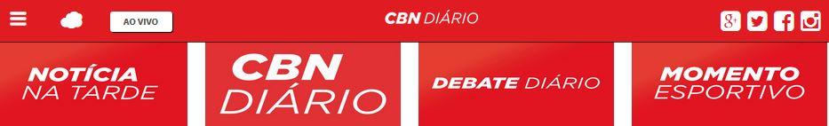 AO VIVO: Rádio CBN Diário 740 AM Floripa / OUVIR A RÁDIO NO SITE NSCTOTAL GLOBO SC