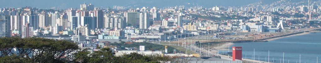 GUIA SÃO JOSÉ MAIS PERTO / OFERTAS POR BAIRROS / PORTAL SC * Vista aérea de São José