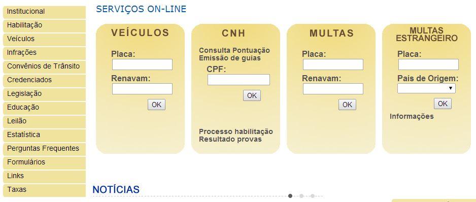 DETRAN de SC - Consultar IPVA SC online no site, Multas, CNH, Concurso, Simulado... 2016 / 2017