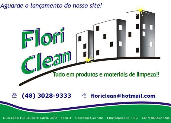 Produtos de Limpeza Flori Clean