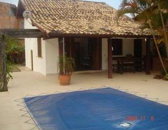 Casa 3 dorms c/ piscina a 400m praia na Cachoeira do Bom Jesus